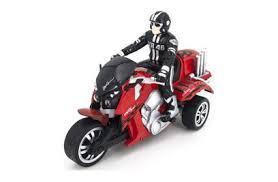 <b>Радиоуправляемый</b> красный <b>мотоцикл Yuan Di</b> Трицикл 1:10 ...