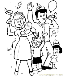 Small Picture Family Coloring Pages GetColoringPagescom