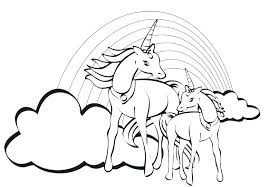 Unicorn With Wings Coloring Pages Unicorn Coloring Pages For Adults