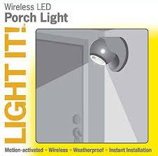 wireless lighting solutions. LED Wireless Motion-Sensor Weatherproof Light Lighting Solutions