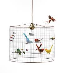 birdcage light shade copper bird cage chandelier i love retro notonthehighstreet small foyer table ideas