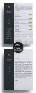 Cool Resume Templates Free Beauteous 48 Free Creative Resume Templates With Cover Letter Freebies