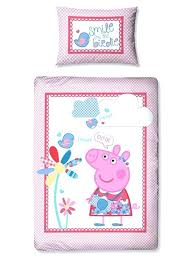 fabulous peppa pig toddler bed duvet set your little one will love this gorgeous junior pig
