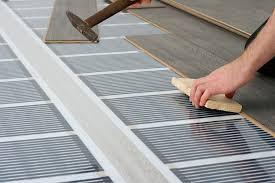 1 Underfloor Heating Film Under Laminate Floor Installation