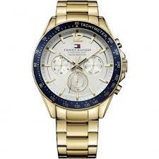 men s watches men s luke multifunction gold tone bracelet watch