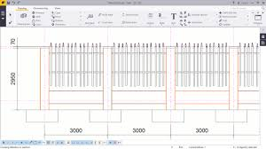 picket fence drawing. How To Create 2D Drawings For Picket Fence In Tekla Structures Drawing