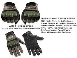 Wiley X Gloves Size Chart Wiley X Combat Assault Glove Foilage Grn Cag 1