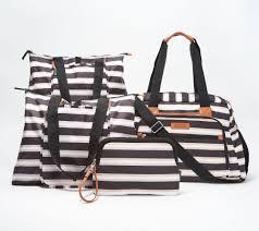 Qvc Designer Bags California Innovations 4 Pc Designer Insulated Carry All Set Qvc Com