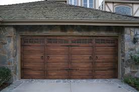 wood garage doorsFaux Wood Garage Doors  Home Interior Design