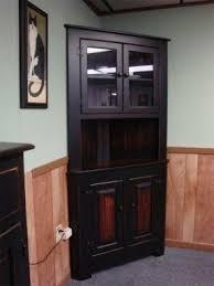 corner bar furniture. Exellent Corner Distressed China Hutch In Corner Bar Furniture O