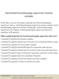 tophotelhousekeepingsupervisorresumesamples lva app thumbnail jpg cb