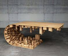 mc 205 cardboard chair. Designer And Model Maker Stelios Mousarris Calls This Coffee Table His Wave City, But You Know Stellar Assemblage Of A City Folding On Top Itself Mc 205 Cardboard Chair