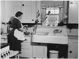 a scrapbook of me using vintage kitchen sinks