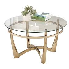 round glass outdoor table hill round glass top coffee table in champagne outdoor glass table top