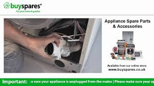 How To Clean Washing Machine Drain How To Replace The Pump In A Washing Machine Youtube