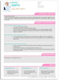 Designed Cv Template My Blog
