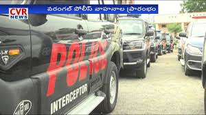 new car launches in hyderabadNew Police Vehicles Launched in Warangal  DGP Anurag Sharma  CVR