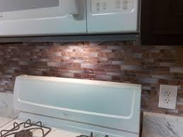 Stick On Backsplash For Kitchen Backsplash Peel And Stick Mosaic Wall Tile Installation Youtube