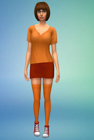 W's Simblr — Bella Goth as Velma from Scooby Doo