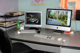 work office desk. Inspirational Workspace: 60 Awesome Setups. Work SpacesOffice Office Desk K