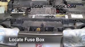 replace a fuse 1991 2002 saturn sl 2000 saturn sl 1 9l 4 cyl