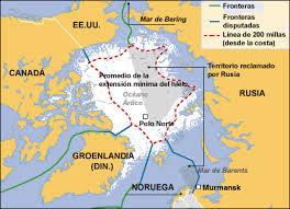 Resultado de imagen para militarizacion del artico