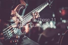 Kick ass guitar solo