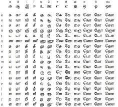 Tamil Phonetic Chart Pin By F Felominraj On Tamil Handwriting Worksheets For