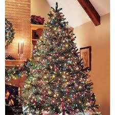 Pre Lit Artificial Douglas Fir Christmas Tree