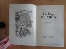 Cool Title Pages Goodbye Mr Chips By James Hilton Reel Old Reads