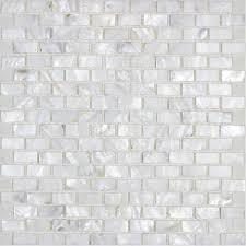 mother of pearl tile backsplash white freshwater shell mosaic subway wall decor natural seashell tile shower