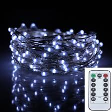 Outdoor Led String Lights With Remote Control Us 10 62 18 Off 6m 120led 8modes Silver Wire 6aa Battery Operated Chrismas String Lights Outdoor Led Fairy Lights Decoration Wedding Garland In Led