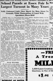 Essex Fair 1929 - Newspapers.com