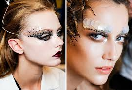 beauty inspiration makeup at haute couture shows