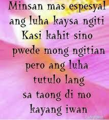 Tagalog Love Quotes Fascinating 48 Beautiful Tagalog Love Quotes With Images Quotes Pinterest