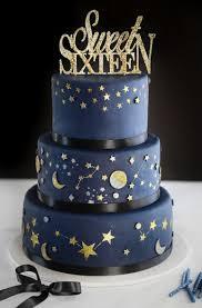 Celestial Sweet Sixteen Cake Sprinkle Bakes