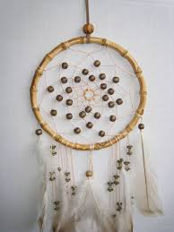 Bamboo Dream Catcher Beige Dream Catcher Large Dream Catcher 22
