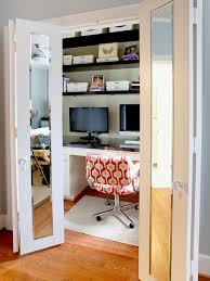 home office in closet. home office in closet prissy design ideas unique small t