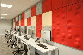 improving acoustics office open. Open Plan Office Design \u003e\u003e Acoustic Wall Panels This Workspace In Improving Acoustics T