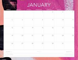 Plain Calendar 2020 Online Free Printable January 2020 Calendar 2019 Calendars