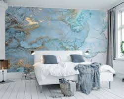 Light Blue Wallpaper Bedroom Online Buy Wholesale Blue Textured Wallpaper From China Blue