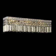 elegant 2032w18c gt rc maxim 4 light mini golden teak crystal bathroom light