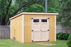 garden shed plans 8 x 10