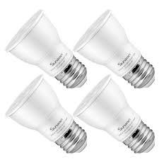Par16 Light Suneon Led Light Bulbs Par16 Led Bulbs 75 Watts Equivalent 7 5w 600lumens 5000k Daylight White Cool Color Dimmable Spot Light Bulb Track Lighting