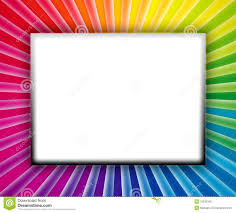 Colorful Picture Frames Coloring Pages