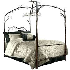 Canopy Bed Campaign Forest Used Frame Cheap Unique Of Concept Ikea ...