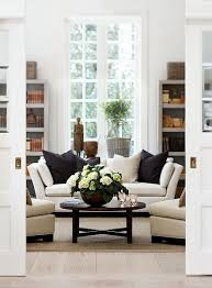 Decorating A Large Living Room Amazing The Perfect Transitional Accents To Get Your Allwhite Living Room