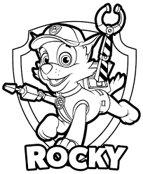 Paw patrol coloring pages represent the characters of the animated series of the same name. Paw Patrol Coloring Pages 120 Pictures Free Printable