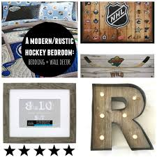 images wall roccos modernrustic hockey room bedding wall decor mama brooks
