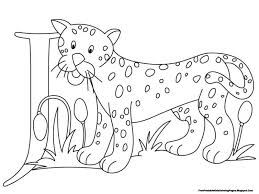 Small Picture Jaguar clipart coloring page Pencil and in color jaguar clipart